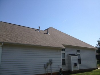 After Roof Cleaning by Excel Pro Service LLC in Cornelious, NC