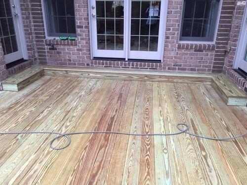 New Deck Construction in Mooresville, NC