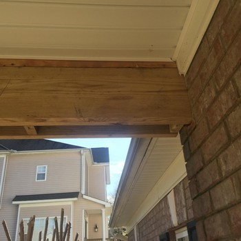 Carpentry Remodeling - Wood Rot in Charlotte, NC