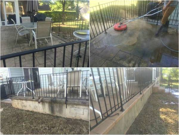 Patio & Wall Surface Cleaning in Charlotte (1)