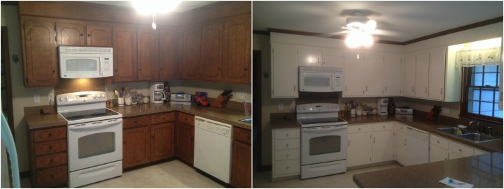 Cabinet Refinishing and Painting Charlotte, NC