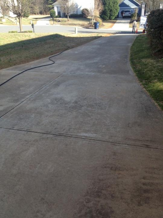 Pressure Washing & Painting Project Huntersville NC
