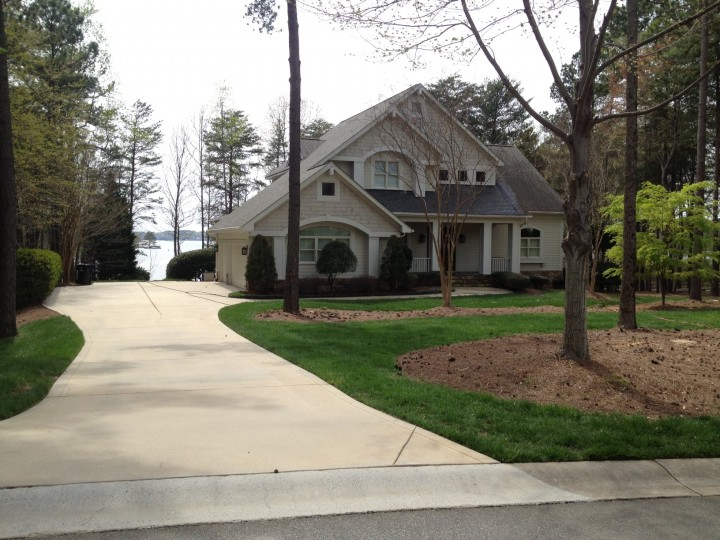 Pressure washing project in Mooresville North Carolina