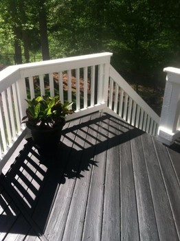 Deck Staining Charlotte NC