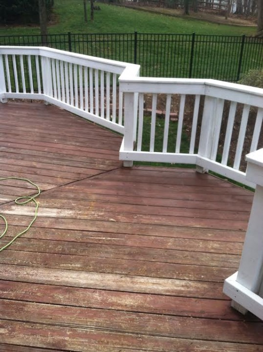 After Deck Staining NC
